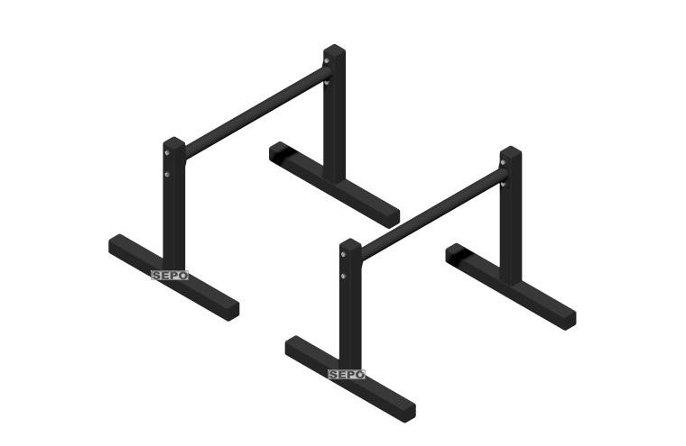 Barra Paralela 40cm De Chão Tipo Paralletes Fitness - Loja Portal