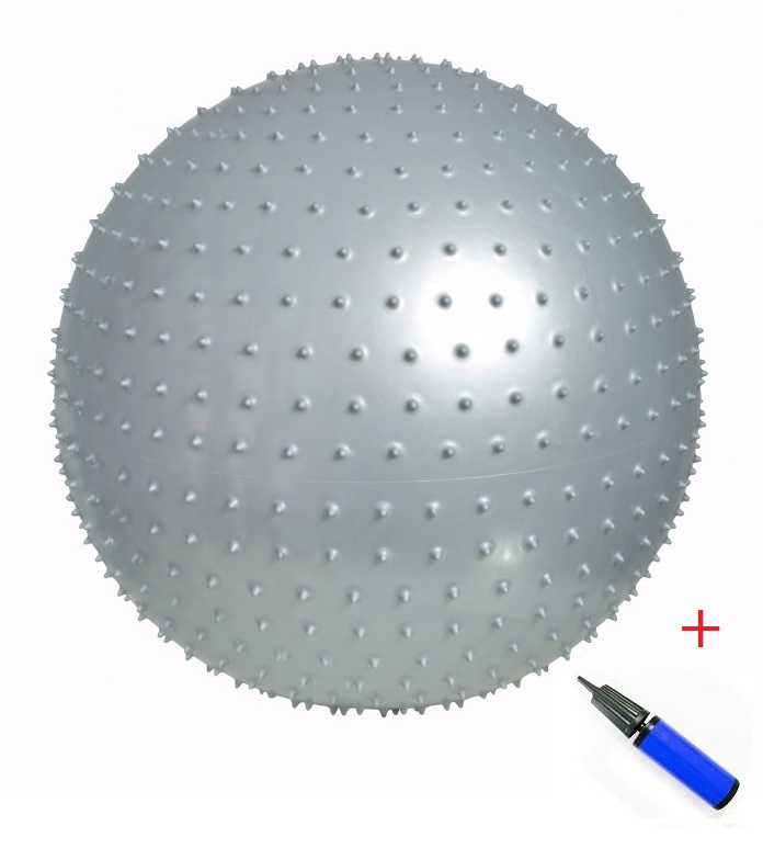 Bola Tipo Massagem com Bomba de Inflar - Loja Portal