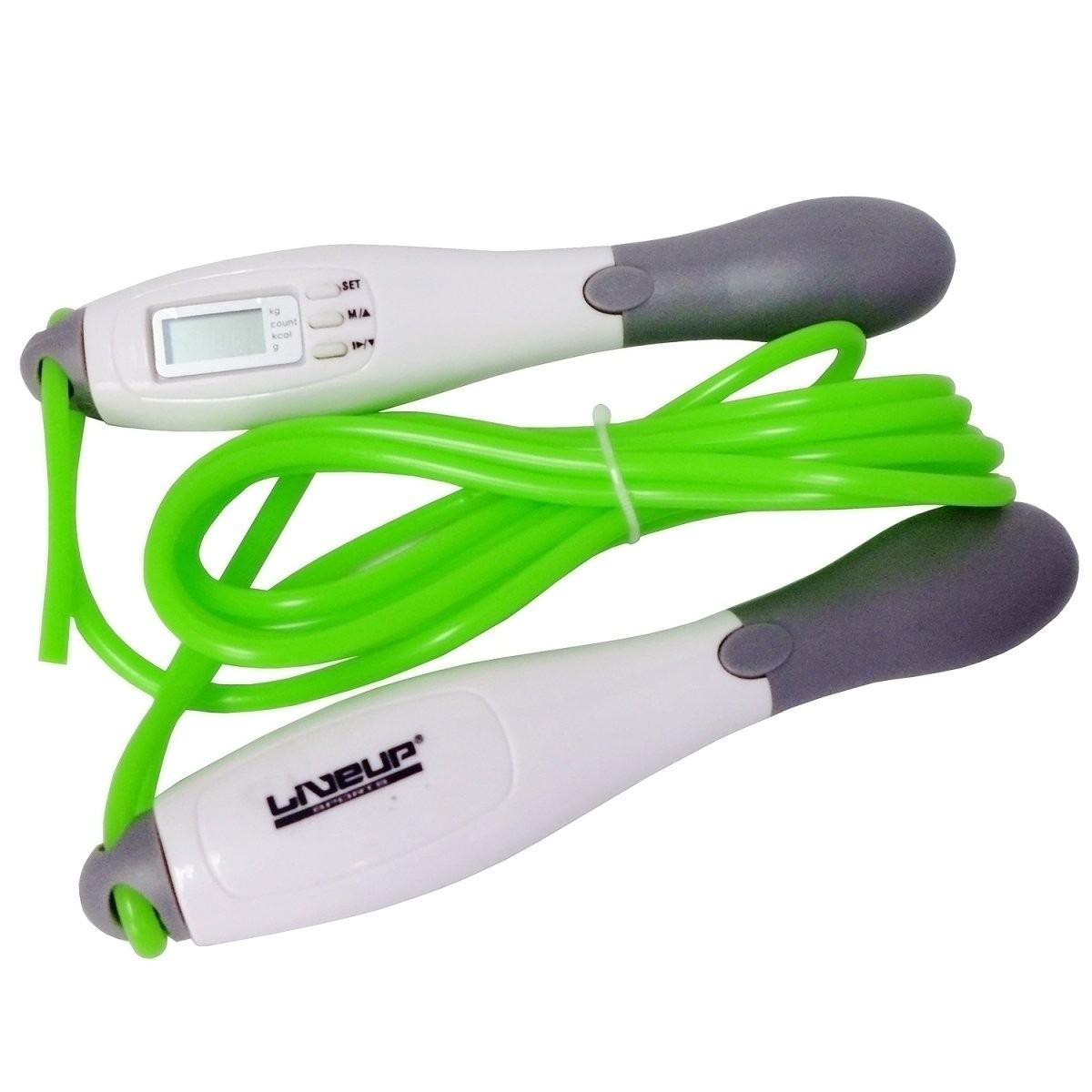 Corda de Pular com Contador Digital e Gasto Calórico Lcd - LiveUp - Loja Portal