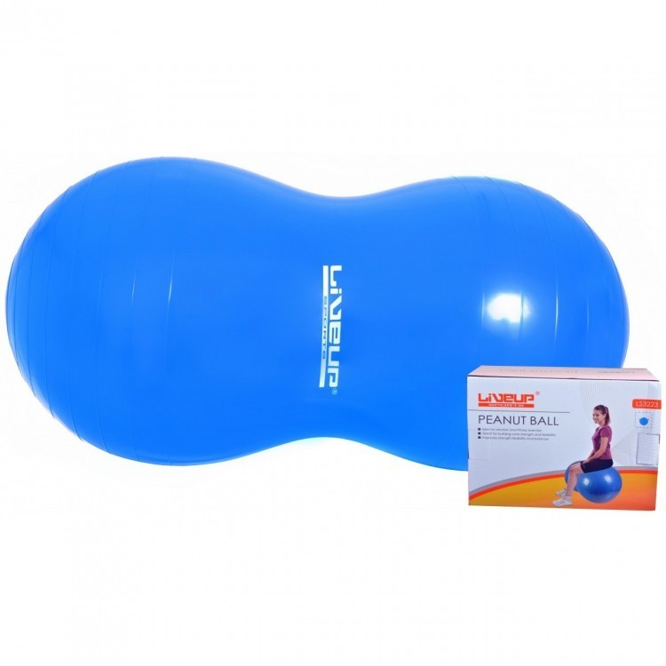 Bola Feijão 90x45cm para Pilates com Bomba de Inflar - Live Up - Loja Portal