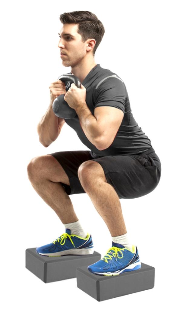 Bloco De Eva Yoga Pilates 22x8x15cm - Acte - Loja Portal