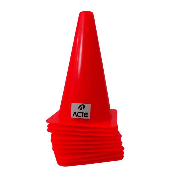Kit 10 cones Para Treino De Agilidade Acte Sports - Loja Portal