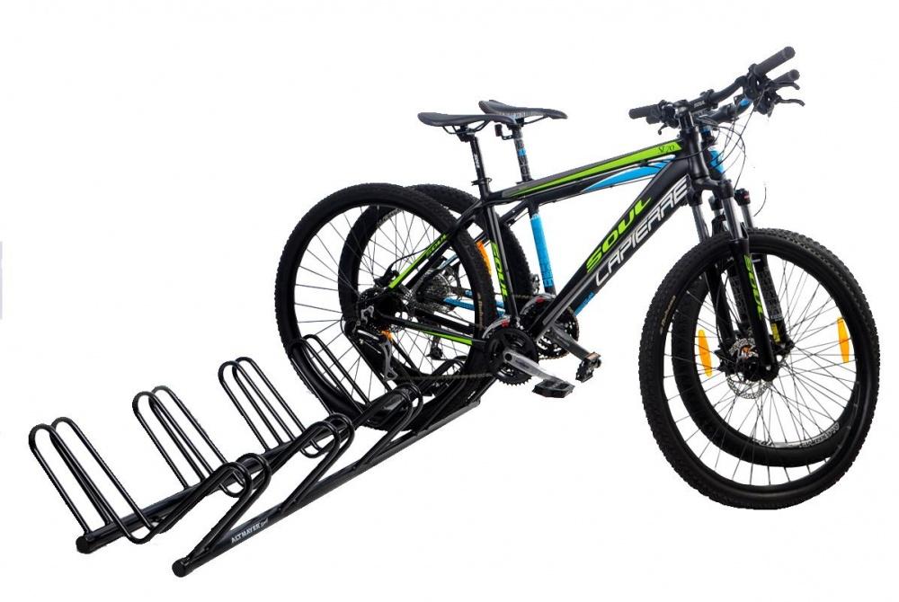 Bicicletário De Chão Para 05 Bicicletas - Altmayer - Loja Portal