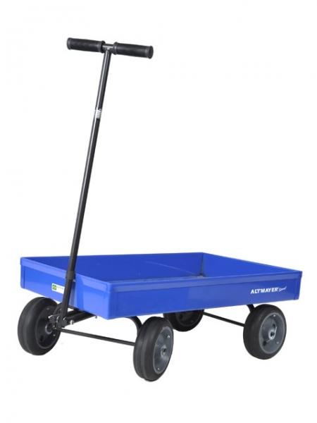 Carrinho De Puxar Infantil Azul - Altmayer - Loja Portal