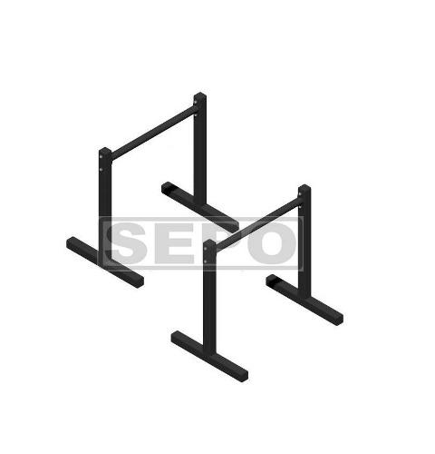 Barra Paralela 70cm De Chão Tipo Paralletes Fitness - Loja Portal