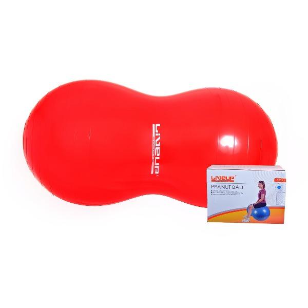Bola Feijão 100x45cm para Pilates com Bomba de Inflar - Live Up - Loja Portal