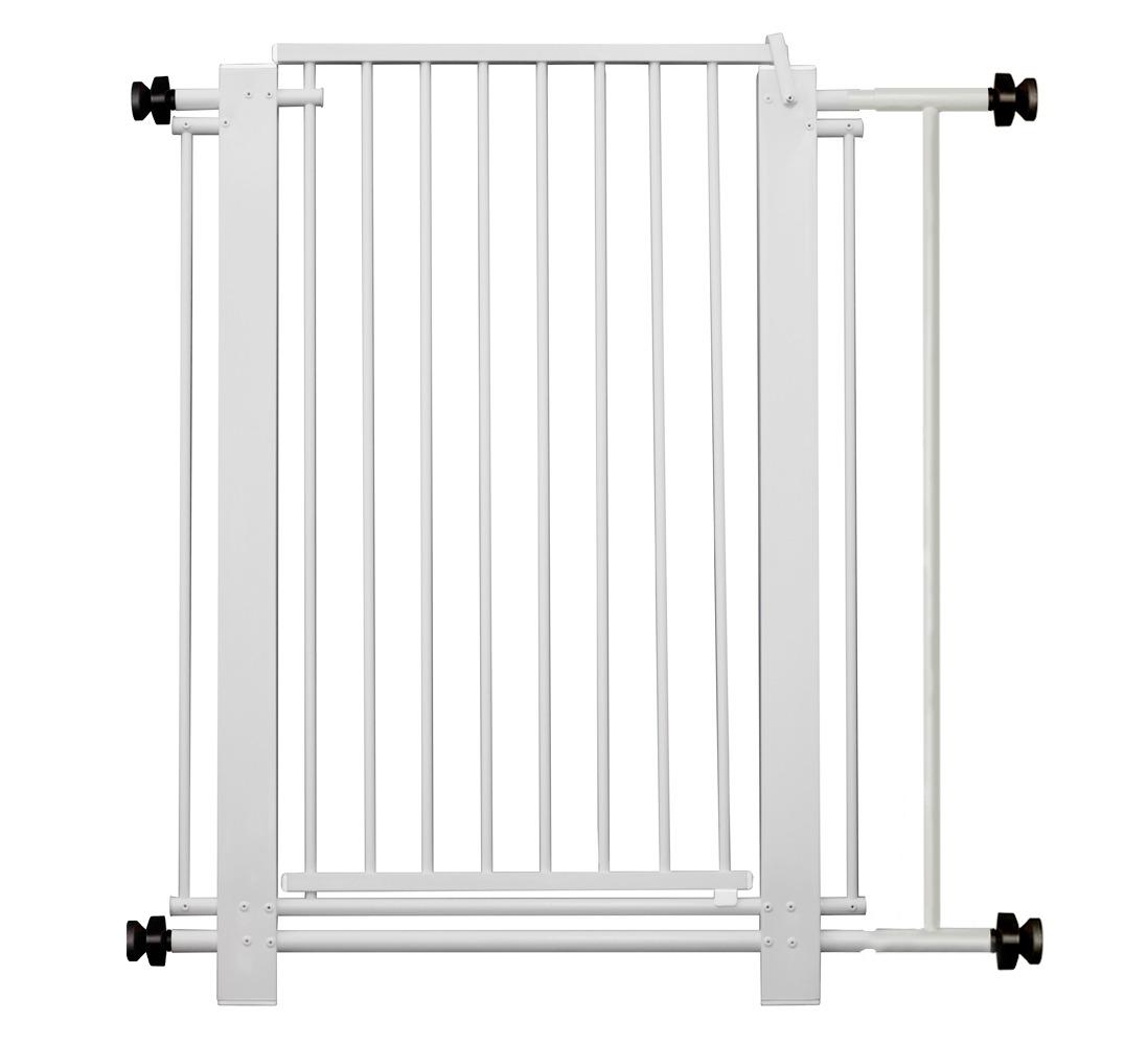Portão com Grade de Proteção 80cm - Secalux - Loja Portal