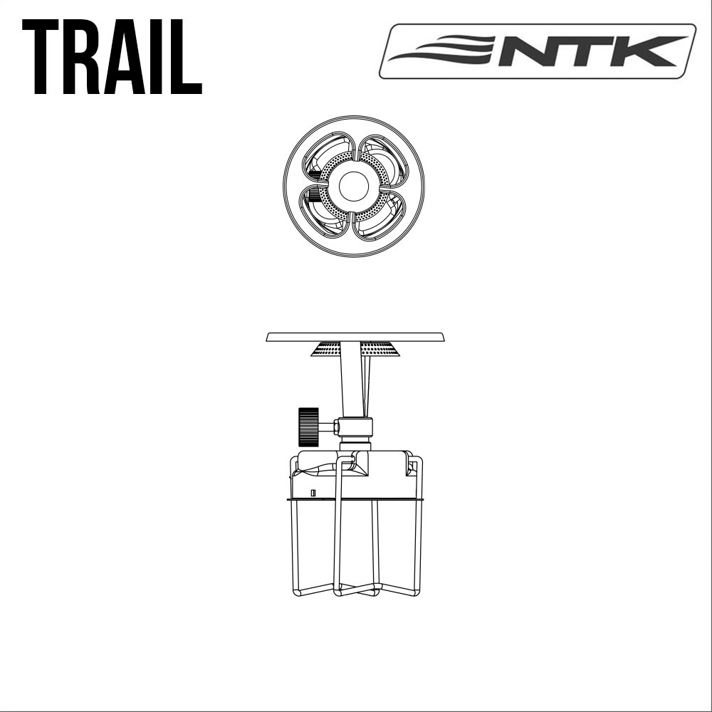 Fogareiro Trail - Nautika - Loja Portal