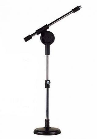 Suporte Microfone Mesa Modelo Girafinha - Visão - Loja Portal