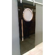 Foto Ilustrativa Porta formica 210x82 cm com  escotilha MA-05 polida