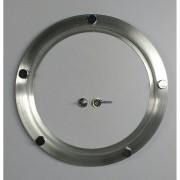 Ma-04/botões kit 26/31 cm escotilha escovada + vidro + botões   Promoção por tempo limitado
