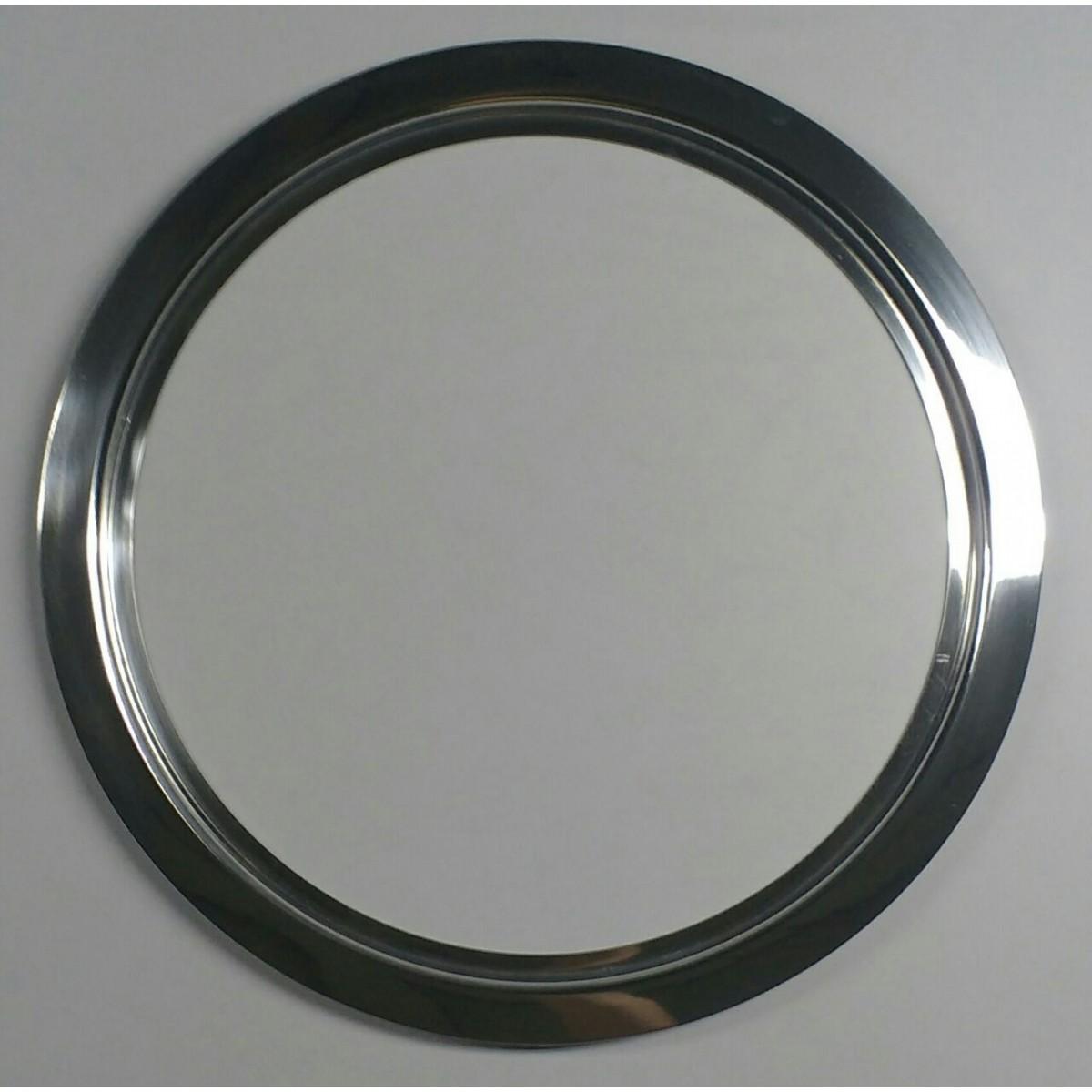 kit escotilha escovada em alumínio 39,5/46 cm com vidro incolor e silicone