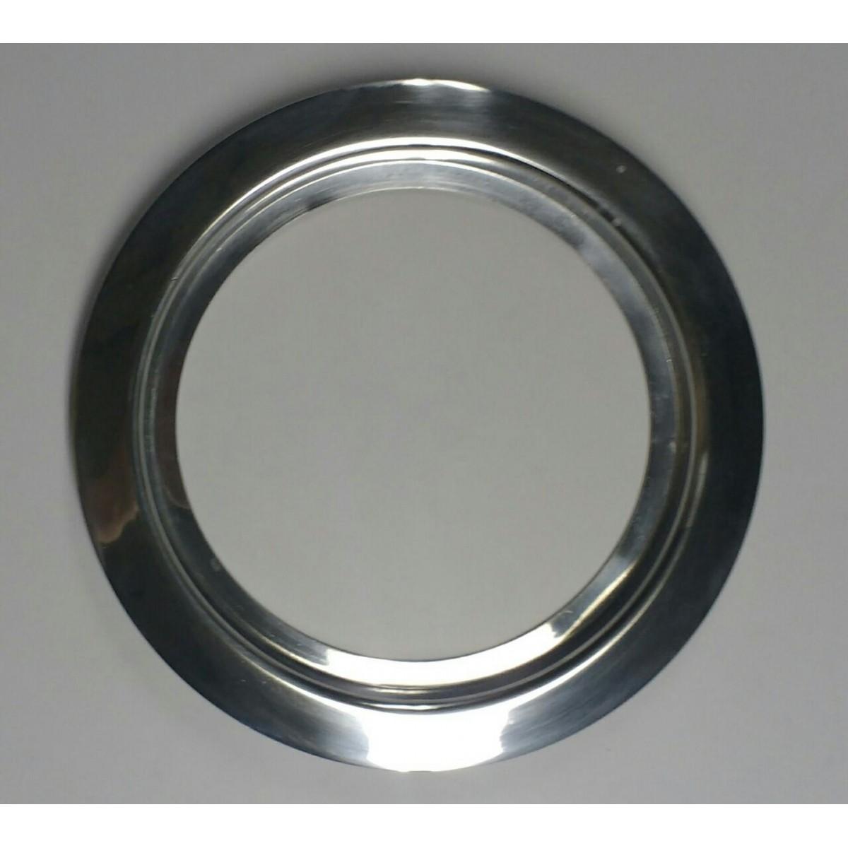 Ma-02/kit 18,5/22 cm escotilha polida+vidro+silicone