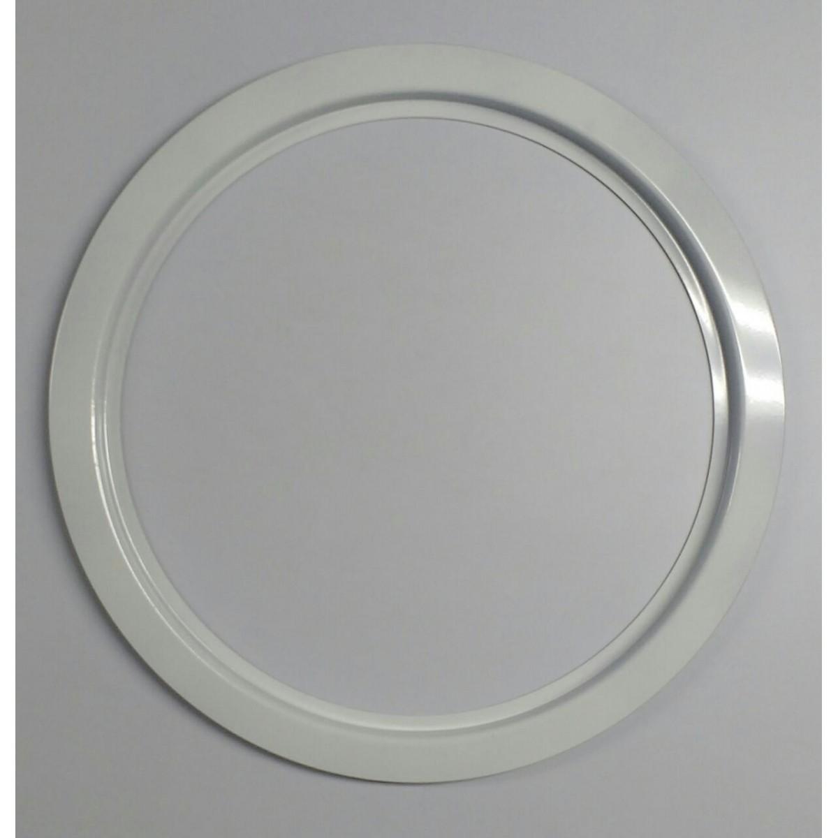 Ma-05/2kit 35/39 cm escotilha branca+vidro+silicone