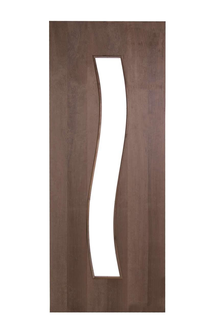 Porta Decorativa de Madeira Sólida - Ref: 15