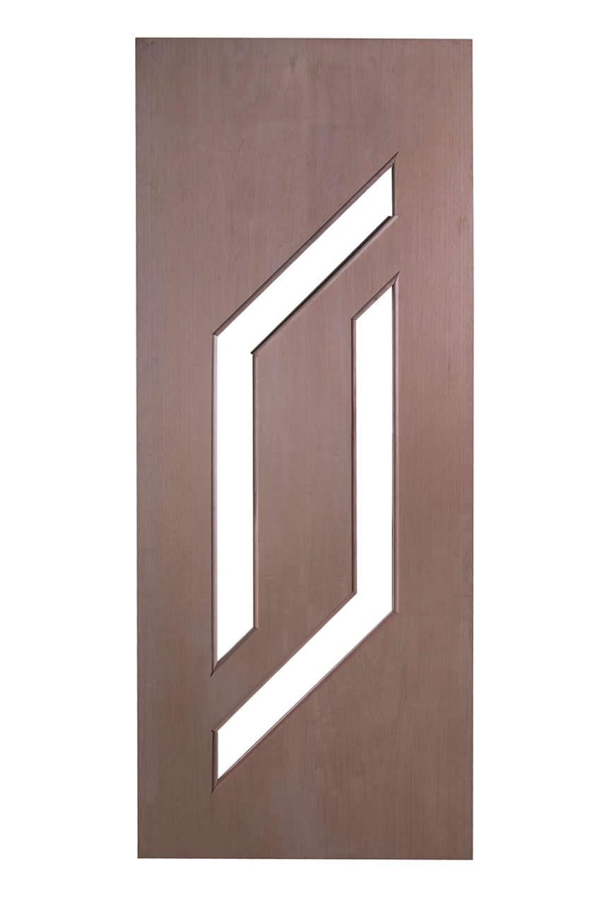 Porta Decorativa de Madeira Sólida -  Ref: 56