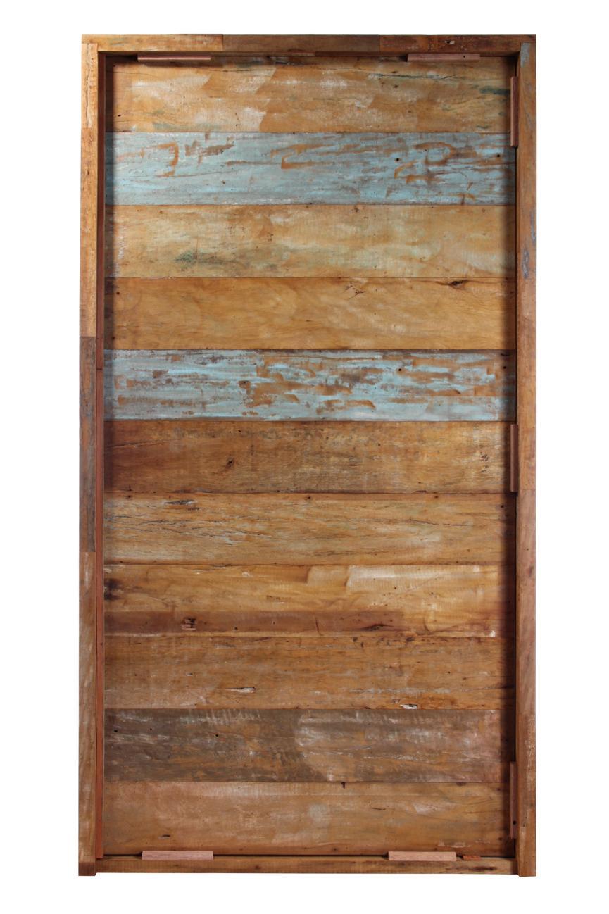 Porta Pivotante de Madeira Maciça - Demolição