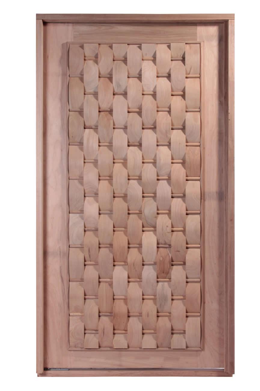 Porta Pivotante de Madeira Maciça - Eros