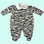 Macac�o com Silk Zebra