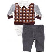 20.667 - Conjunto Body Sweater Jacquard Geométrico