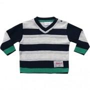 51.218 - Sweater com Listras em Relevo