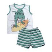 62.188 - Conjunto Pijama Silk Dino Surf
