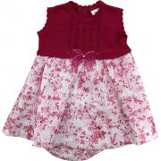 90.301EX - Vestido de Tricot com Floral