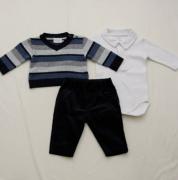 AE20.027  - Conjunto Body Sweater Listras