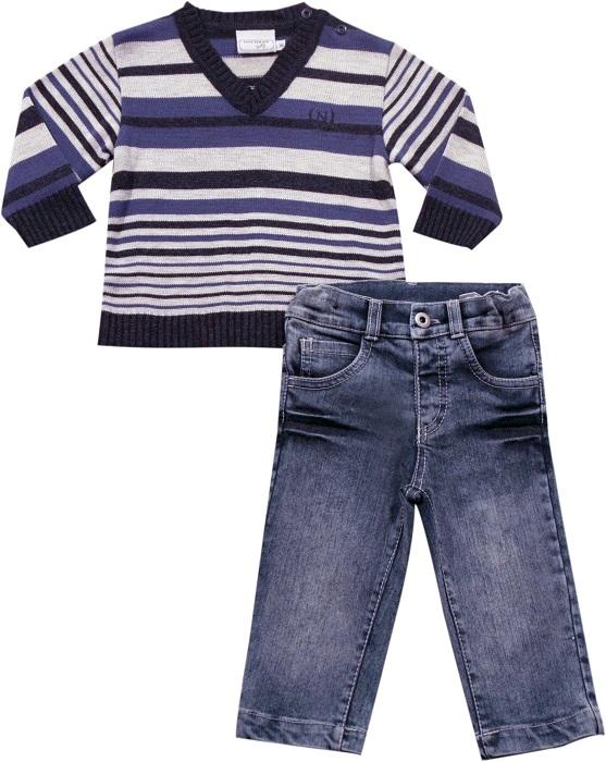 21.571 - Conjunto Sweater Listrado