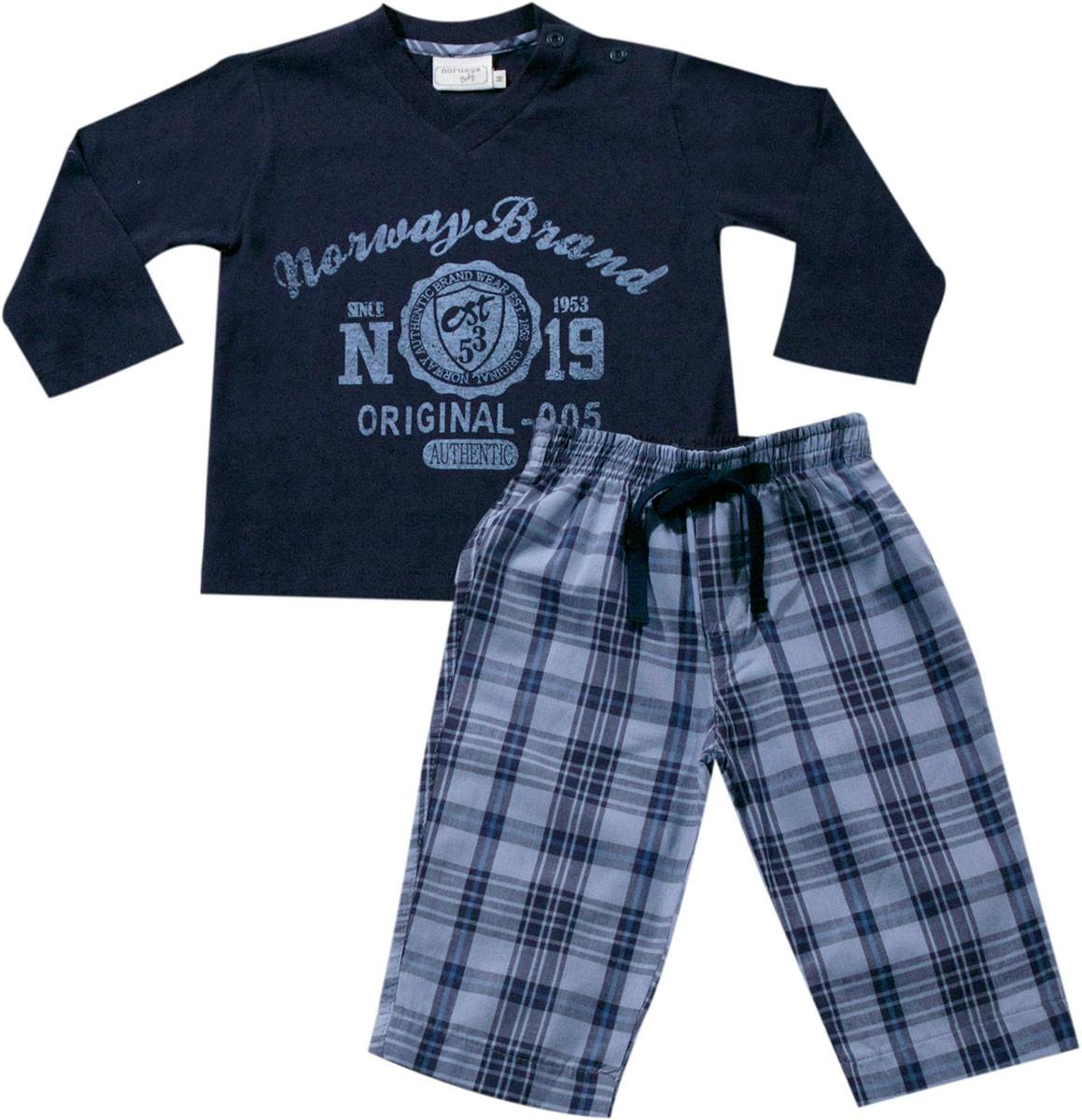 61.016 - Conjunto Pijama Xadrez