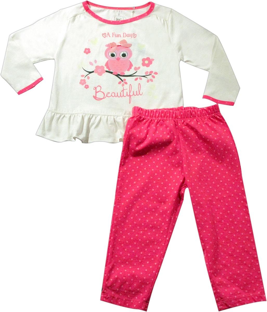 61.021 - Conjunto Pijama Silk Coruja