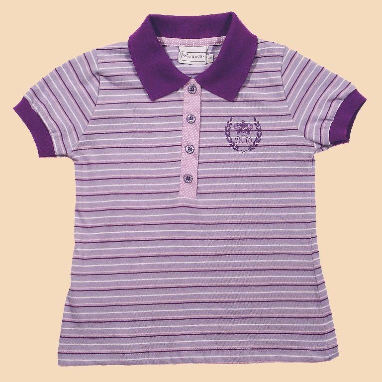 Camisa Polo Listrada Silk NW