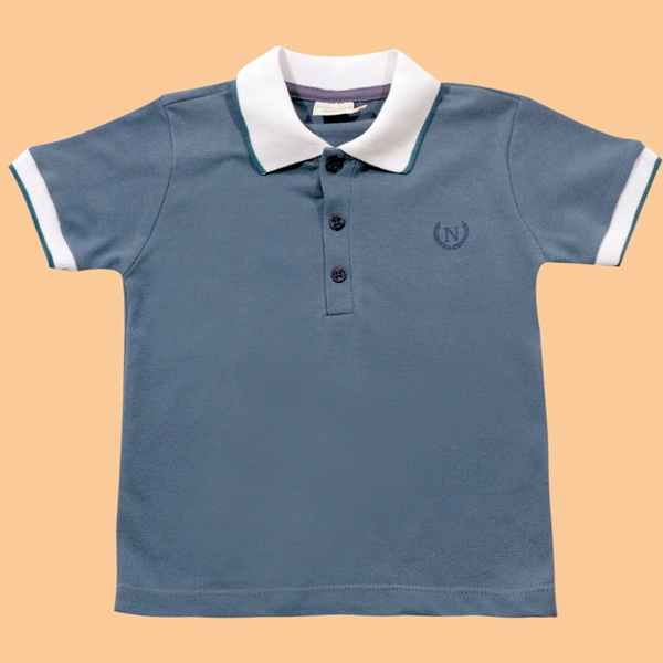 Camisa Polo Friso Gola e Mangas