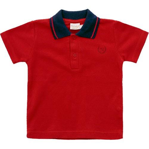 81.180A - Camisa Polo Friso Gola