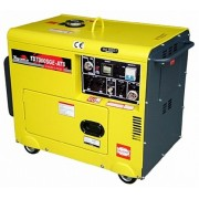 Gerador de Energia Toyama TD7000SGE3 380V 6 kva Trifásico Silencioso