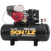 Compressor de Ar a Gasolina Schulz Progas 20/200 140lbs