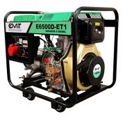 Gerador de Energia Emit E6500D-ET1 220V 6.5 kva Trifásico Partida Elétrica