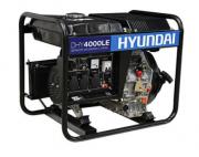 Gerador de Energia Hyundai DHY 4000 LE 4 kva Partida Elétrica
