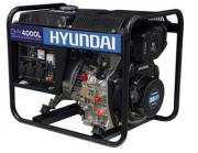 Gerador de Energia Hyundai DHY 4000 L 4 kva Monofásico