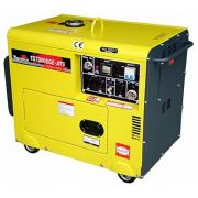 Gerador de Energia Toyama TD7000SGE3D 220V 6 kva Trifásico Silencioso
