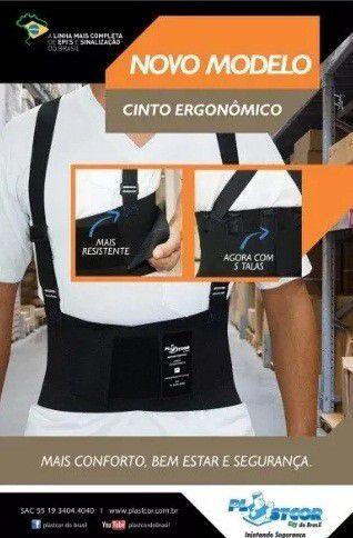 Cinturão Ergonômico Postura/carregar Peso