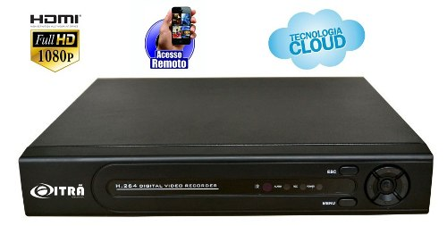 Dvr Híbrido Full Hd 4 Canais