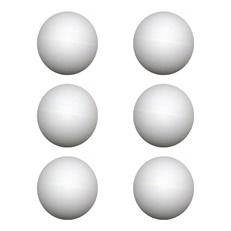 Bolinha para Tênis de Mesa Ping Pong com 6 Unidades