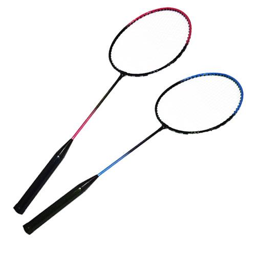 Badminton Kit Com 2 Raquetes 3 Peteca