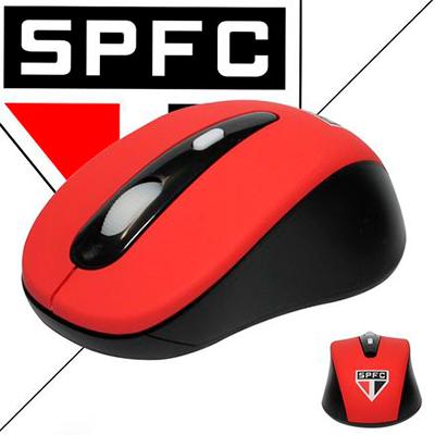 Mouse Óptico sem fio de Times de Futebol
