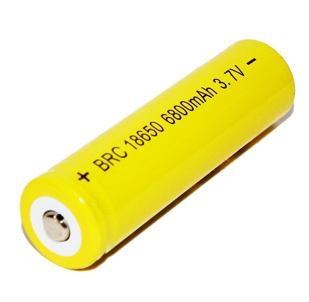 Baterias Mod 18650 - 3.7v Recarregável De 6800mah