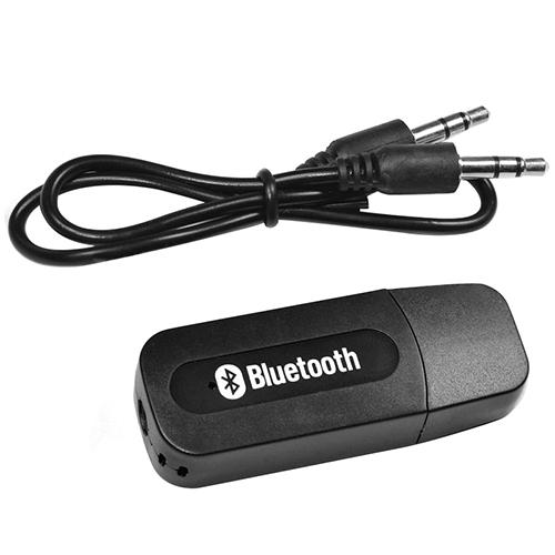 Receptor Bluetooth Usb Áudio Stereo Transmissor P2 Músicas