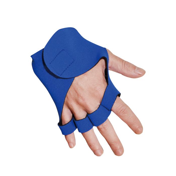Um Par de Luvas Para Academia Azul Art Sport