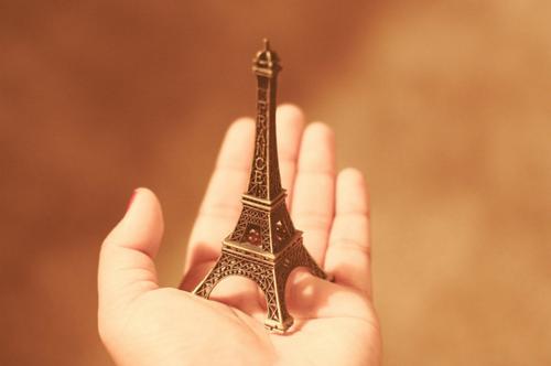 Miniatura da Torre Eiffel