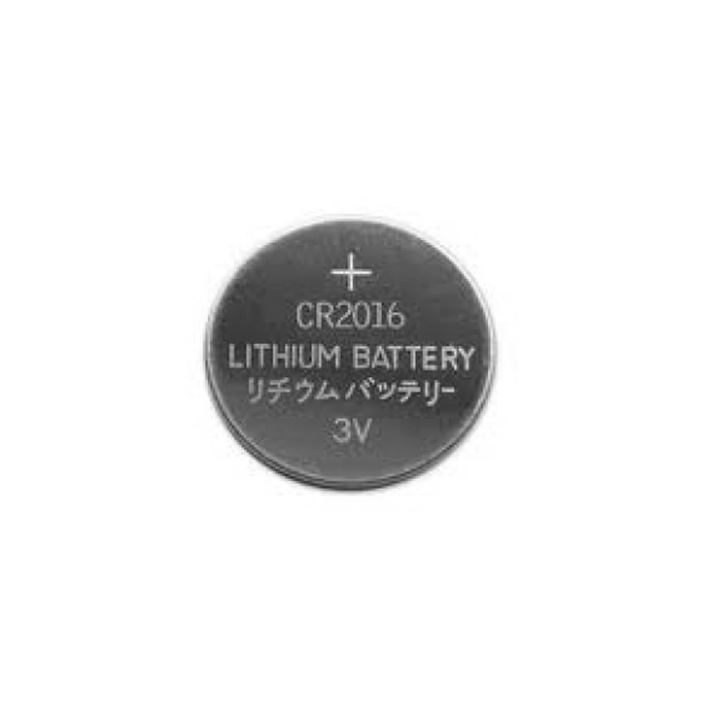 Cartela com 5 Baterias Lithivm CR2016